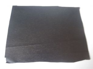 Black Linen backed Rexine cabinet covering for speaker / amps etc R1 Sold per metre